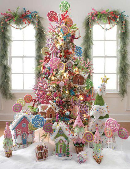 candy christmas tree 3