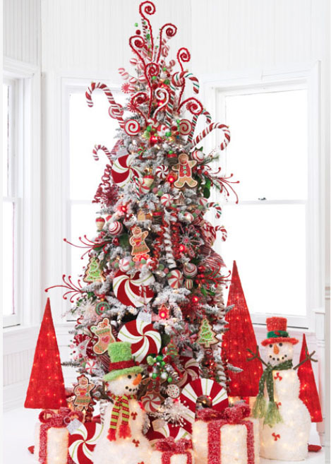 candy christmas tree 5