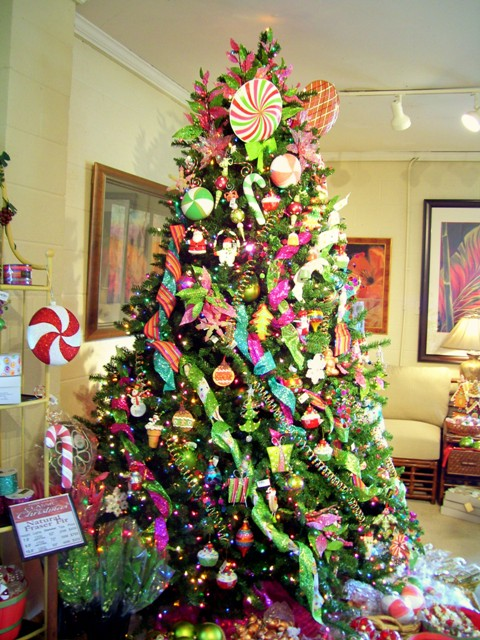 colorful christmas tree 1