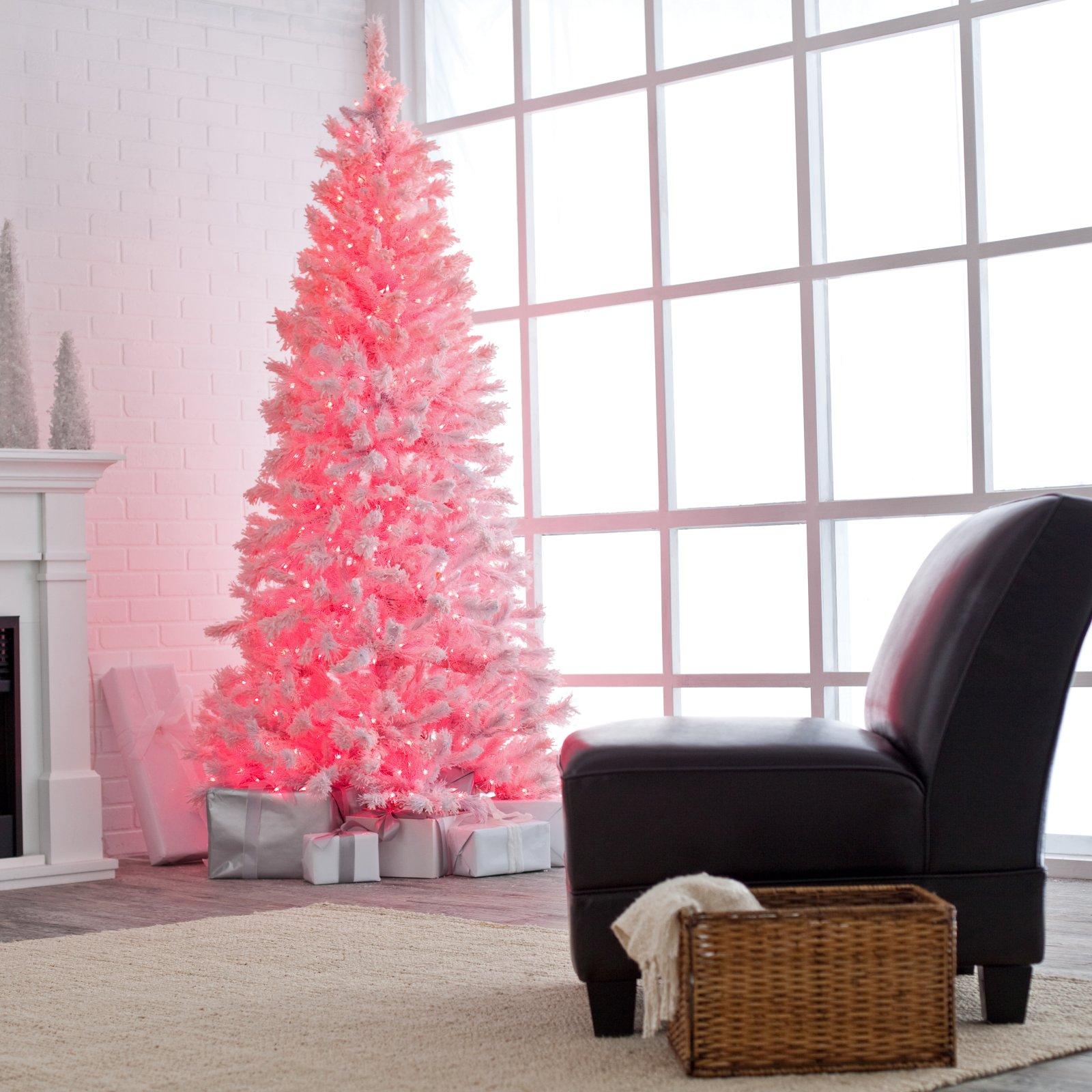 pink christmas tree 3