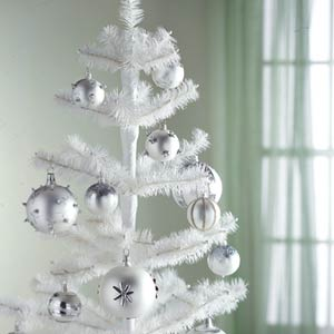 white christmas tree 10