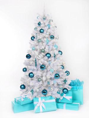 white christmas tree 13