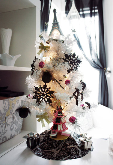 white christmas tree 9
