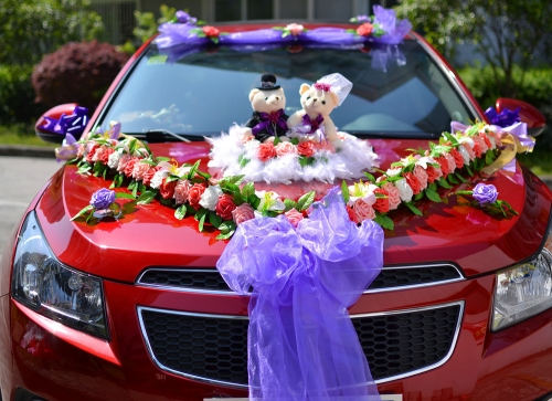 Wedding Car Decoration Steps And Methods Right Circle Events